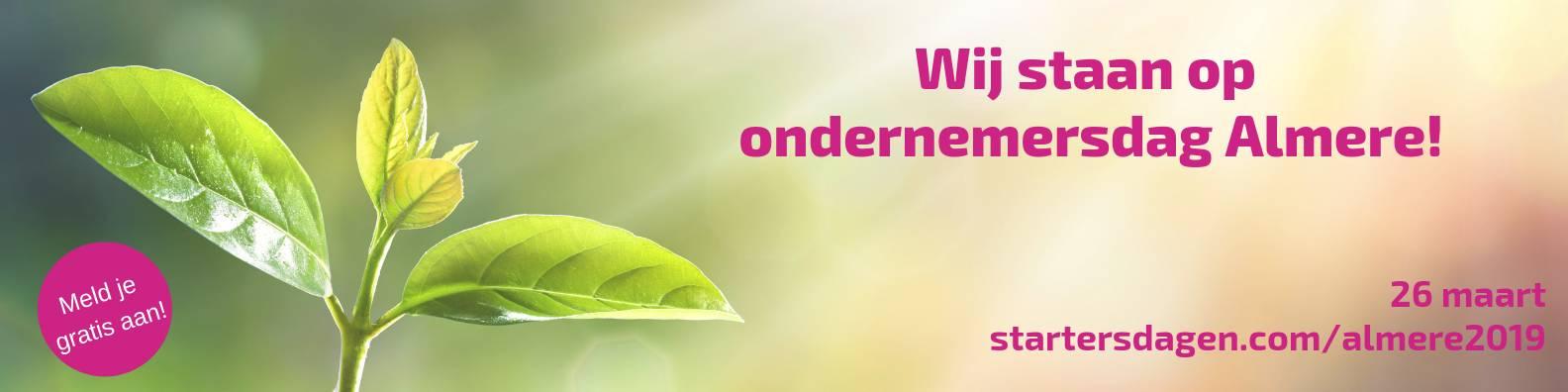 HAO staat op 26 maart 2019 op de Ondernemersdag in Almere