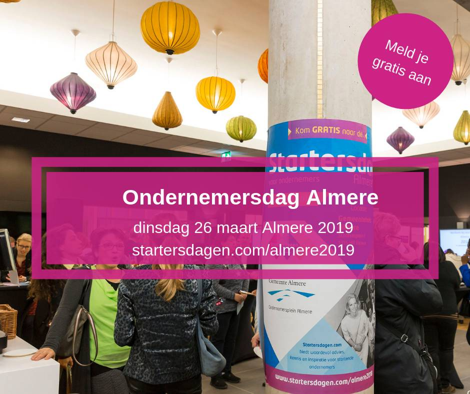 Ondernemersdag Almere 2019